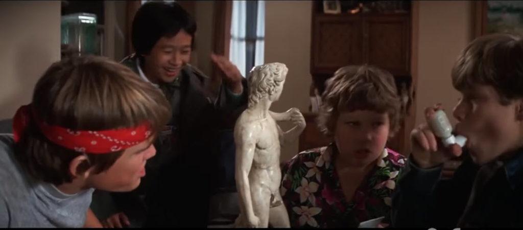 goonies davis statue