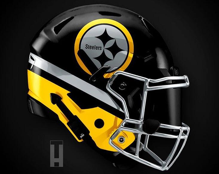 Alternate NFL Helmet Designs