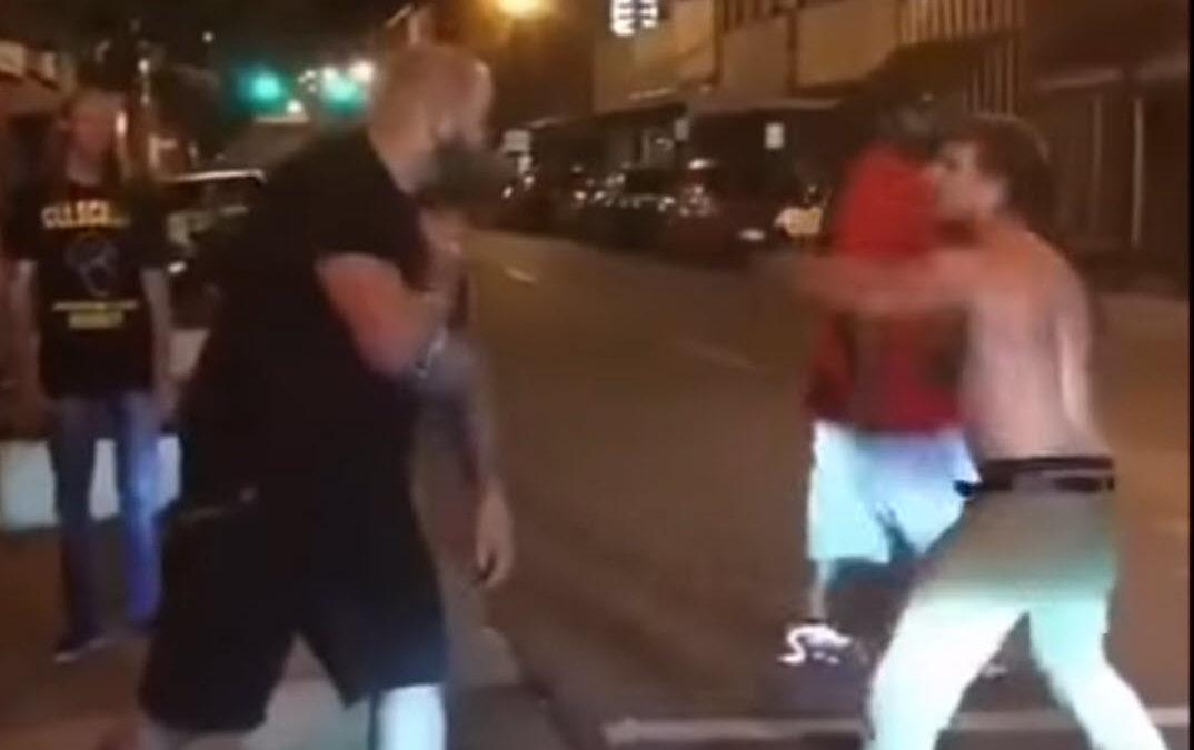 Brutal Street Fight Knockouts