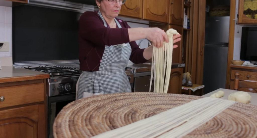 making rare pasta