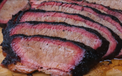 Smoked Brisket on Pellet Grill