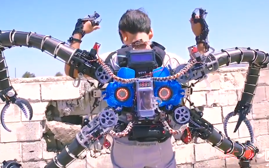Genius Teenager Creates Doc Ock Arms With A 3D Printer