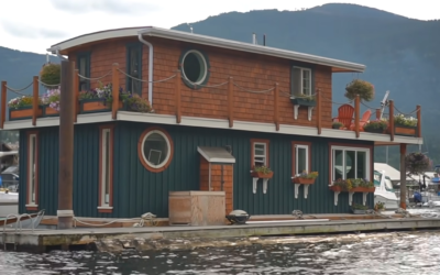 Living Off-The-Grid In A Floating Home