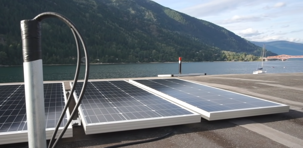 solar on floating home