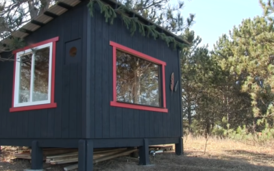 Build Yourself An Off The Grid Cabin